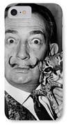 Salvador Dali (1904-1989) IPhone Case