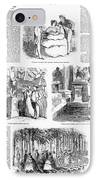 Saratoga Springs, 1859 IPhone Case