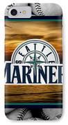 Seattle Mariners IPhone Case by Joe Hamilton