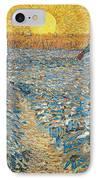 Sower IPhone Case by Vincent van Gogh