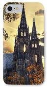 St Vitus Church In Hradcany Prague IPhone Case by Jelena Jovanovic