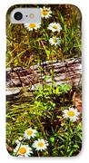 Summer Flowers On The Blue Ridge Parkway 7653 IPhone Case