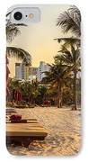 Sunset Holiday IPhone Case by Niphon Chanthana