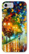 Swimming Sky IPhone Case by Leonid Afremov