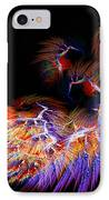 Symbol Of Fire IPhone Case by Lourry Legarde