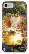 The Fairies Banquet IPhone Case by John Anster Fitzgerald