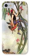 The Fairy Book IPhone Case by Warwick Goble
