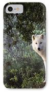 Timber Wolf IPhone Case by Angel  Tarantella