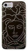 Versace Medusa Head IPhone Case by Peter Virgancz