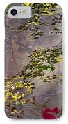 Wissahickon Autumn IPhone Case by Bill Cannon