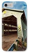 Wooden Covered Bridge  IPhone Case