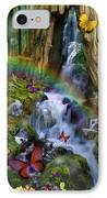 Woodland Forest Fairyland IPhone Case by Alixandra Mullins