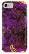 Digital  IPhone Case by HollyWood Creation By linda zanini