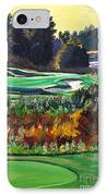 11 At Legacy Links IPhone Case by Frank Giordano