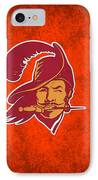 Tampa Bay Buccaneers IPhone Case by Joe Hamilton