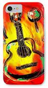Guitar IPhone Case by Mark Kazav