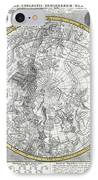 1700 Celestial Planisphere IPhone Case