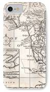 1763 Gibson Map Of East And West Florida IPhone Case by Paul Fearn