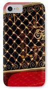 1904 Franklin Open Four Seater Grille Emblem IPhone Case by Jill Reger