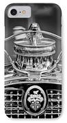 1929 Packard 8 Hood Ornament 4 IPhone Case by Jill Reger