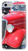 1934 Ford Greyhound Two Door Sedan IPhone Case