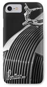 1935 Pontiac Sedan Hood Ornament 3 IPhone Case
