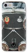 1950 Jaguar Xk120 Roadster Grille IPhone Case