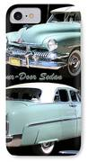 1951 Mercury Come And Going IPhone Case by Jack Pumphrey