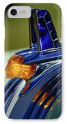 1953 Pontiac Hood Ornament 3 IPhone Case by Jill Reger