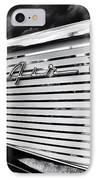 1957 Chevrolet Bel Air Monochrome IPhone Case