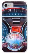 1959 Buick Lesabre Steering Wheel IPhone Case