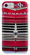 1959 Chevrolet Grille Ornament IPhone Case by Jill Reger