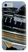 1959 Desoto Adventurer Hood Emblem IPhone Case by Jill Reger