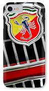 1967 Fiat Abarth 1000 Otr Emblem IPhone Case