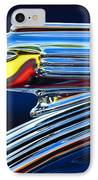 1939 Pontiac Silver Streak Chief Hood Ornament IPhone Case by Jill Reger