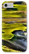 #9 At Chambers Bay Golf Course IPhone Case by David Patterson