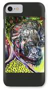 Abraham Lincoln  IPhone Case by Michael Kulick