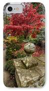 Autumn Path IPhone Case by Adrian Evans