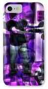 Dancing All Night Long In The Studio IPhone Case by Sir Josef - Social Critic - ART