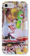 Deli On The Via Condotti IPhone Case