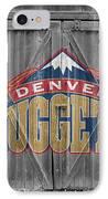 Denver Nuggets IPhone Case by Joe Hamilton