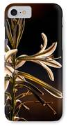 Desert Easter Lily IPhone Case by Robert Bales