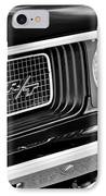 Dodge Challenger Rt Grille Emblem IPhone Case