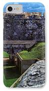 El Morro Fortress Old San Juan IPhone Case by Thomas R Fletcher