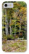 Fall Color River IPhone Case by Thomas R Fletcher