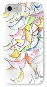 Falling Into Place IPhone Case by Sherry Harradence