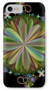 Flowers IPhone Case by Sandy Keeton