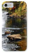 Forest River In The Fall IPhone Case