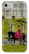 Her Favorite Horse IPhone Case
