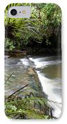 Jungle Stream  IPhone Case by Les Cunliffe